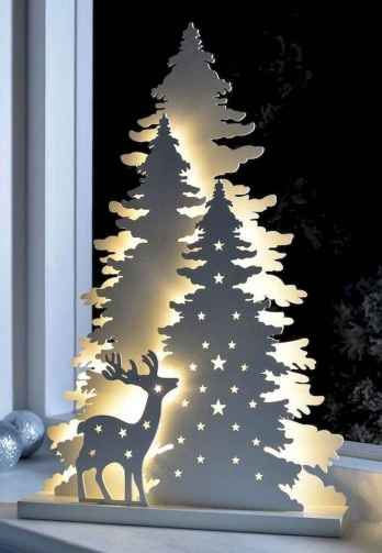 70 Creative Christmas Lights Apartment Decorating Ideas And Makeover (14)