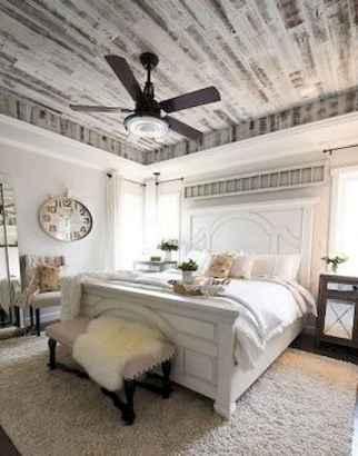 120 Elegant Farmhouse Master Bedroom Decor Ideas (10)