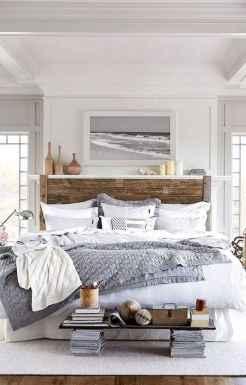 120 Elegant Farmhouse Master Bedroom Decor Ideas (100)