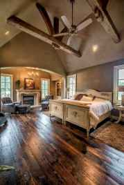 120 Elegant Farmhouse Master Bedroom Decor Ideas (114)