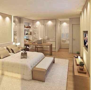 120 Elegant Farmhouse Master Bedroom Decor Ideas (99)
