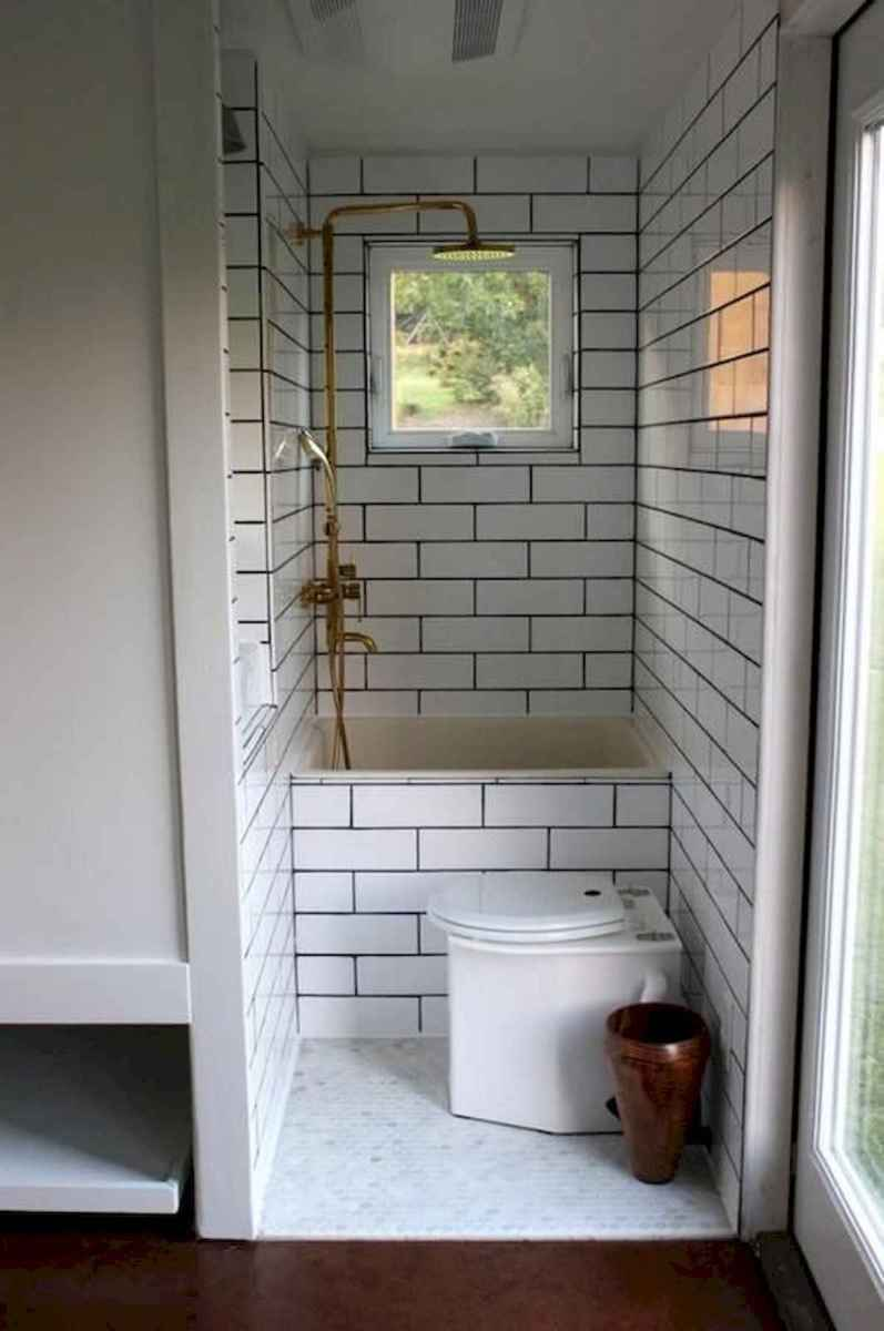 30 Genius Tiny House Bathroom Shower Design Ideas And Remodel (1)