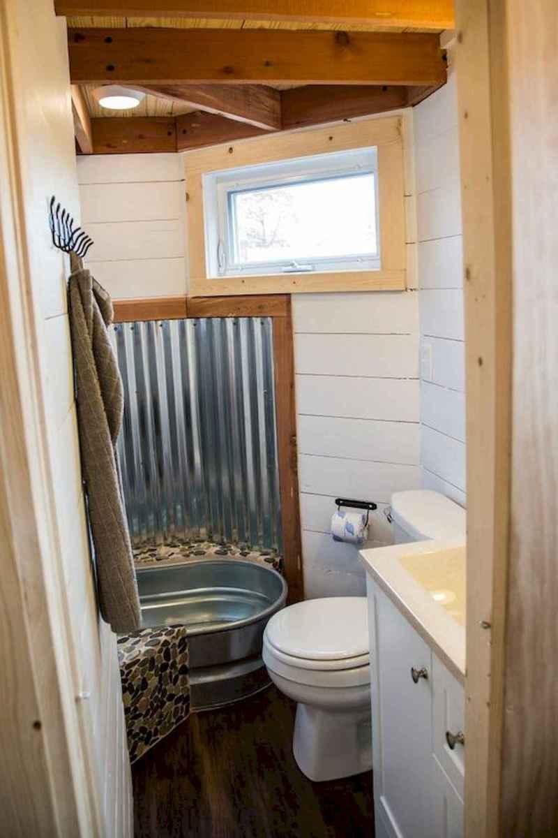 30 Genius Tiny House Bathroom Shower Design Ideas And Remodel (11)