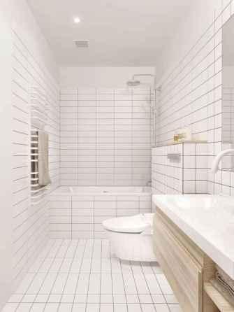 60 Elegant Small Master Bathroom Remodel Ideas (59)