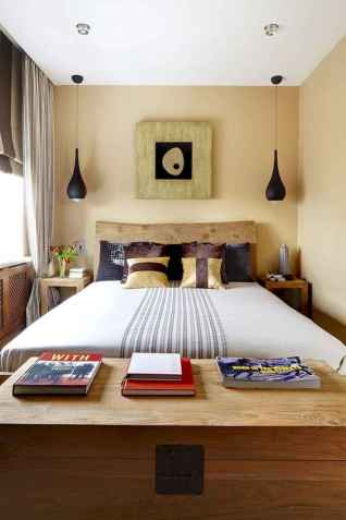60 Small Apartment Bedroom Decor Ideas On A Budget (48)