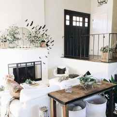 70 Modern Farmhouse Living Room Decor Ideas And Makeover (38)