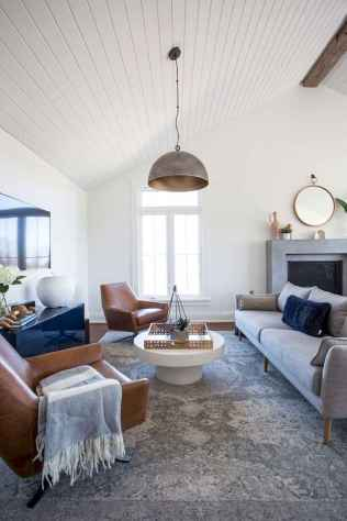 70 Modern Farmhouse Living Room Decor Ideas And Makeover (52)