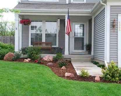 90 Simple and Beautiful Front Yard Landscaping Ideas on A Budget (12)