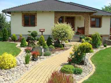 90 Simple and Beautiful Front Yard Landscaping Ideas on A Budget (22)