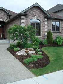 90 Simple and Beautiful Front Yard Landscaping Ideas on A Budget (52)