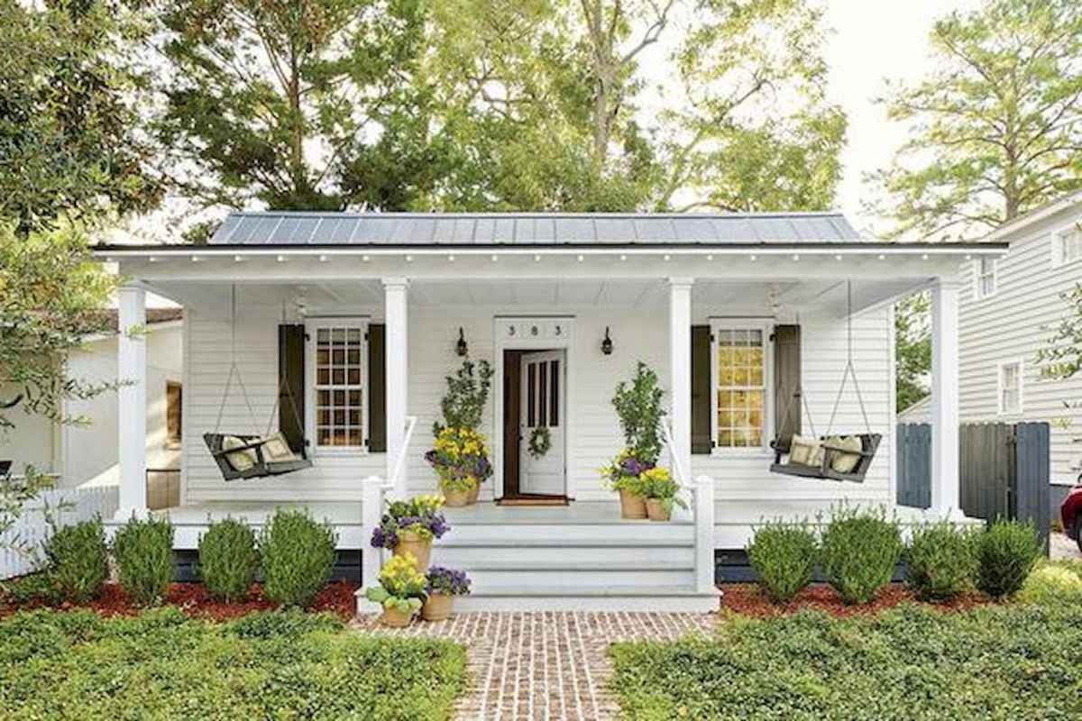 90 Simple and Beautiful Front Yard Landscaping Ideas on A Budget (53)