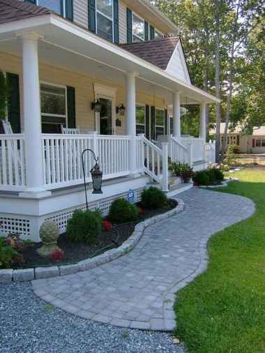90 Simple and Beautiful Front Yard Landscaping Ideas on A Budget (54)