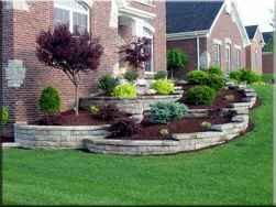 90 Simple and Beautiful Front Yard Landscaping Ideas on A Budget (77)