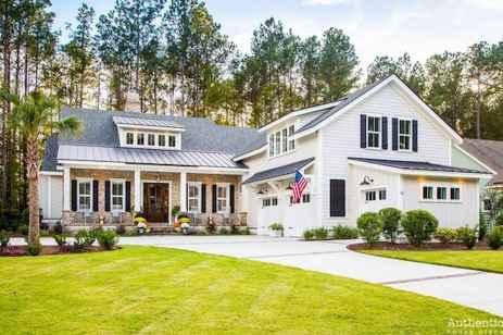 33 Best Modern Farmhouse Exterior Design Ideas (25)