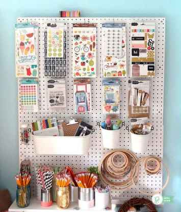 30 Best Art Room And Craft Room Organization Decor (26)