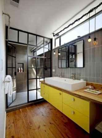 30 Best Farmhouse Bathroom Shower Decor (25)