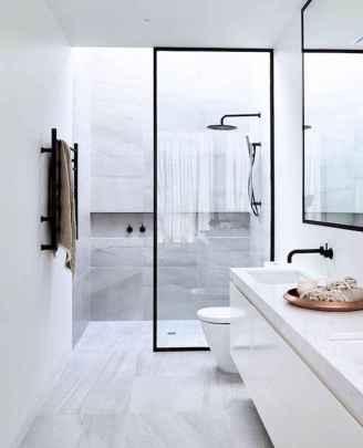 30 Best Farmhouse Bathroom Shower Decor (27)