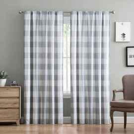 30 Best Farmhouse Curtains Decor (13)