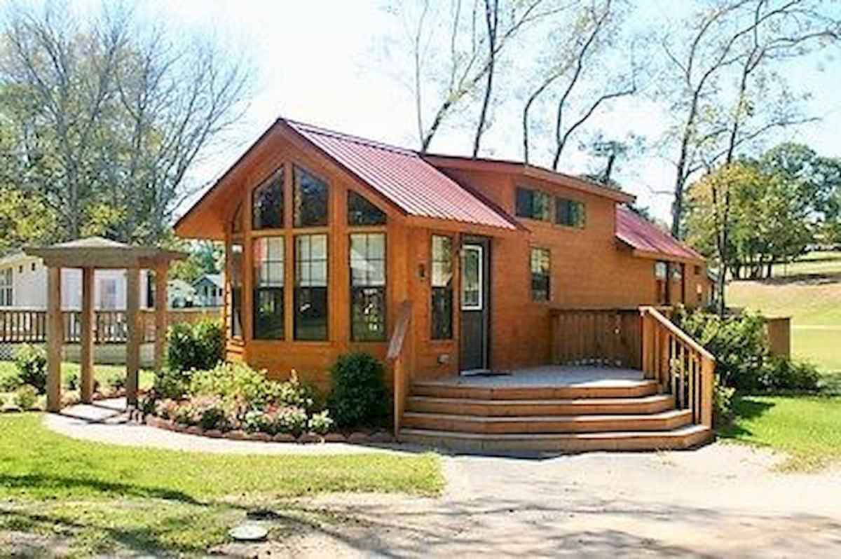 40 Stunning Log Cabin Homes Plans One Story Design Ideas (12)