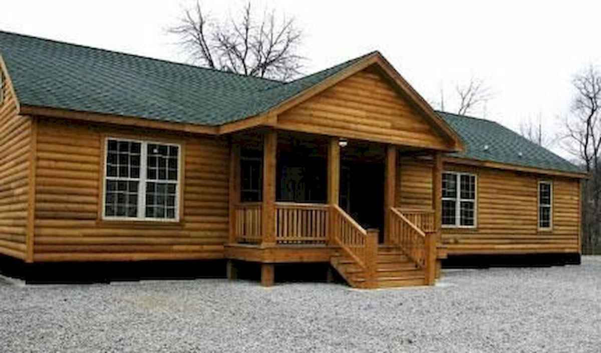 40 Stunning Log Cabin Homes Plans One Story Design Ideas (13)