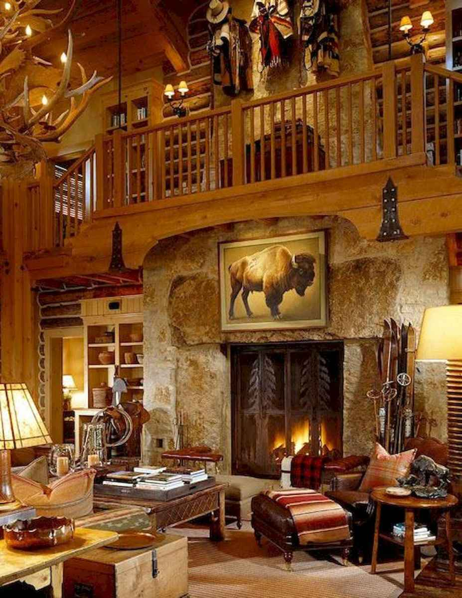 50 Incredible Log Cabin Homes Modern Design Ideas (18)