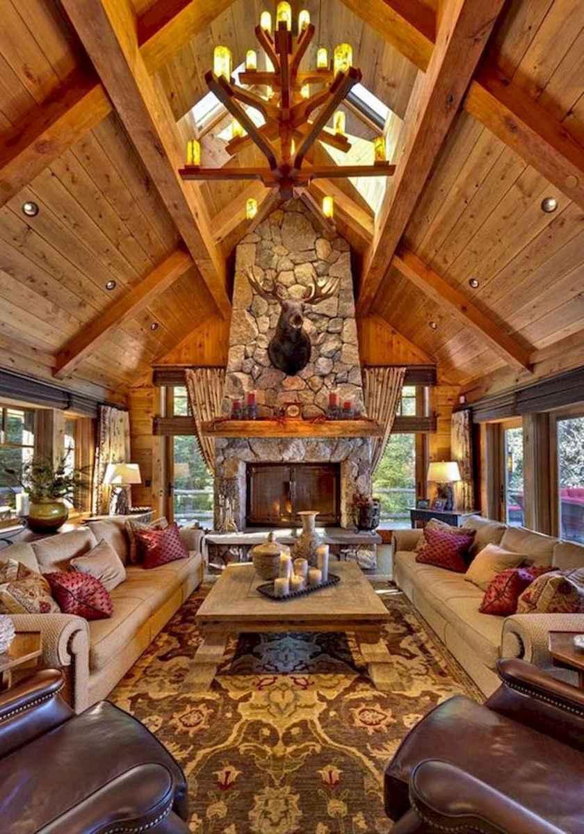 50 Incredible Log Cabin Homes Modern Design Ideas (19)