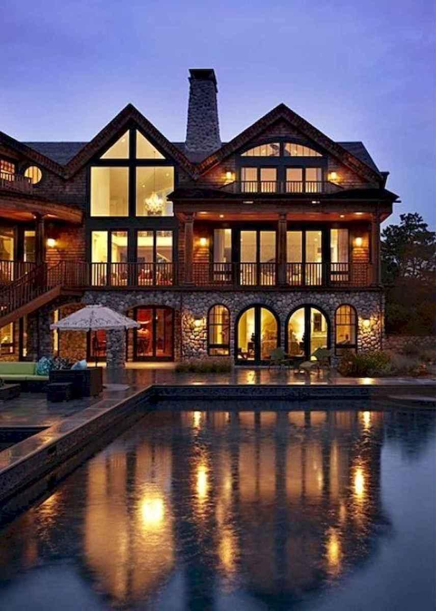 50 Incredible Log Cabin Homes Modern Design Ideas (20)