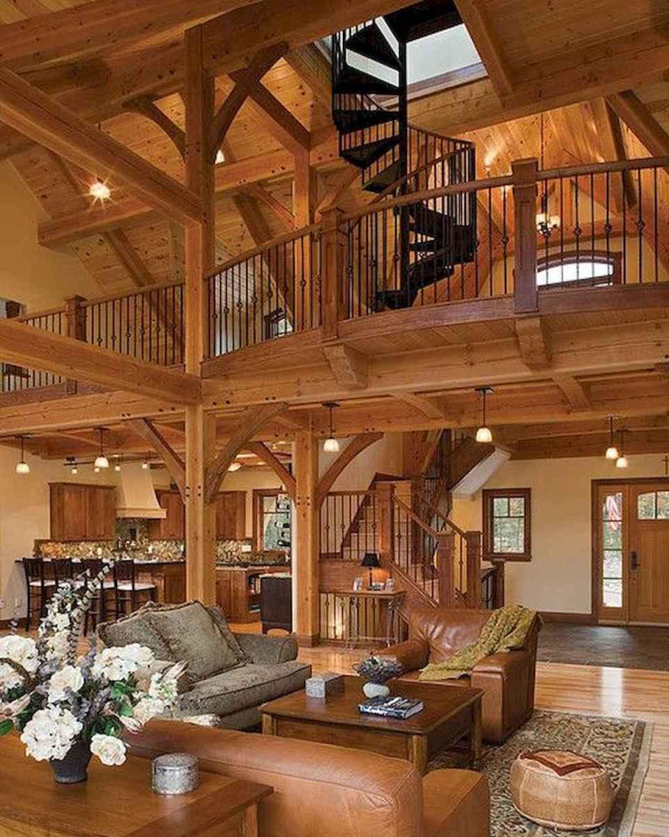 50 Incredible Log Cabin Homes Modern Design Ideas (3)