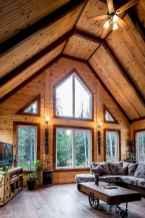 50 Incredible Log Cabin Homes Modern Design Ideas (33)