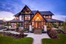 50 Incredible Log Cabin Homes Modern Design Ideas (38)
