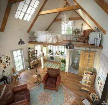 50 Incredible Log Cabin Homes Modern Design Ideas (43)