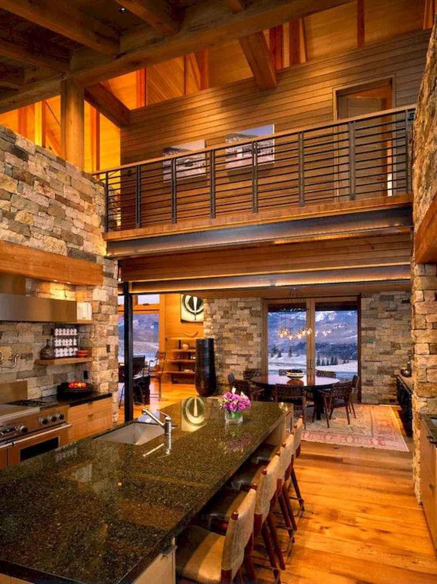 50 Incredible Log Cabin Homes Modern Design Ideas (48)