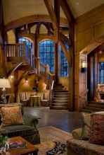 50 Incredible Log Cabin Homes Modern Design Ideas (49)