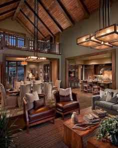 50 Incredible Log Cabin Homes Modern Design Ideas (53)