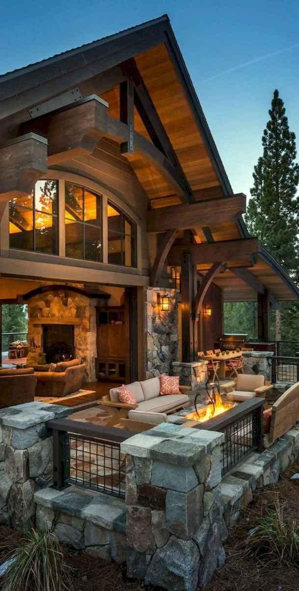 50 Incredible Log Cabin Homes Modern Design Ideas (8)