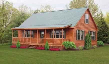70 Suprising Small Log Cabin Homes Design Ideas (51)