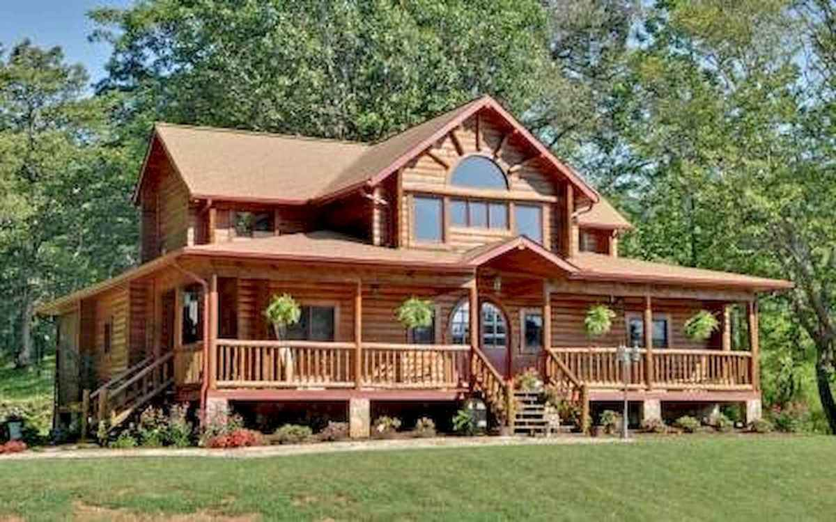 75 Great Log Cabin Homes Plans Design Ideas (1)