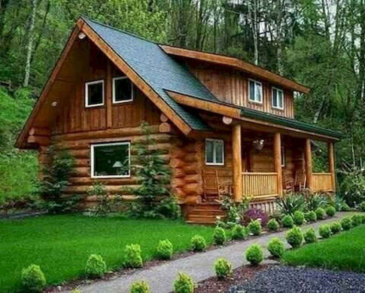 75 Great Log Cabin Homes Plans Design Ideas (11)