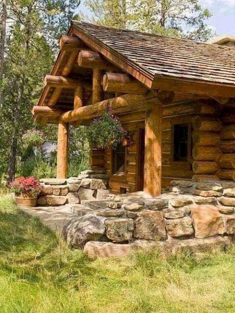 75 Great Log Cabin Homes Plans Design Ideas (19)
