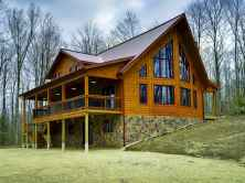 75 Great Log Cabin Homes Plans Design Ideas (22)