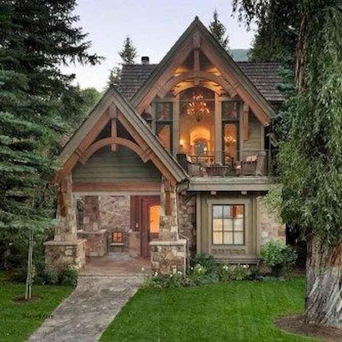 75 Great Log Cabin Homes Plans Design Ideas (28)