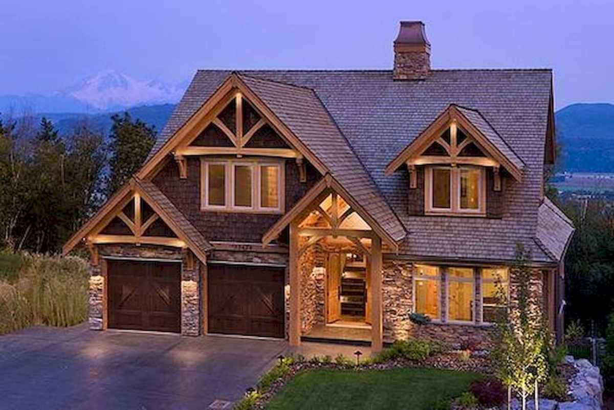 75 Great Log Cabin Homes Plans Design Ideas (40)