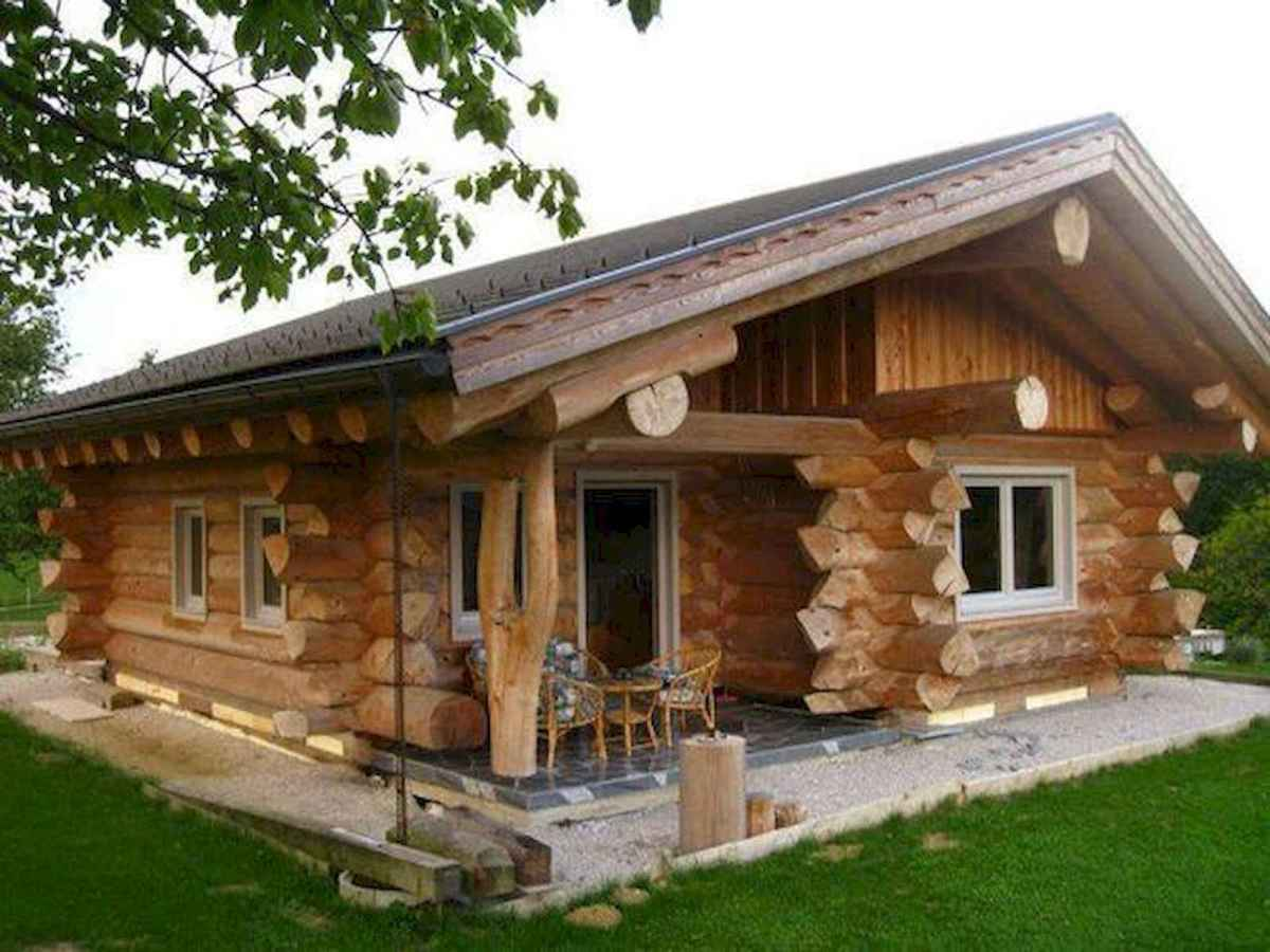 75 Great Log Cabin Homes Plans Design Ideas (47)