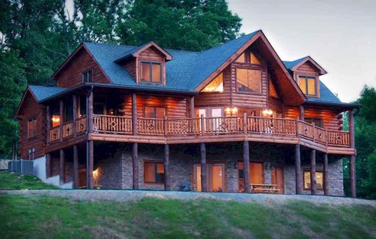 75 Great Log Cabin Homes Plans Design Ideas (5)