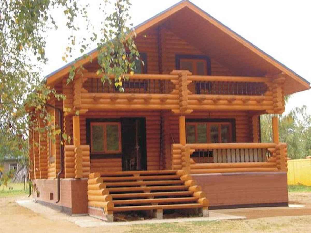 75 Great Log Cabin Homes Plans Design Ideas (53)