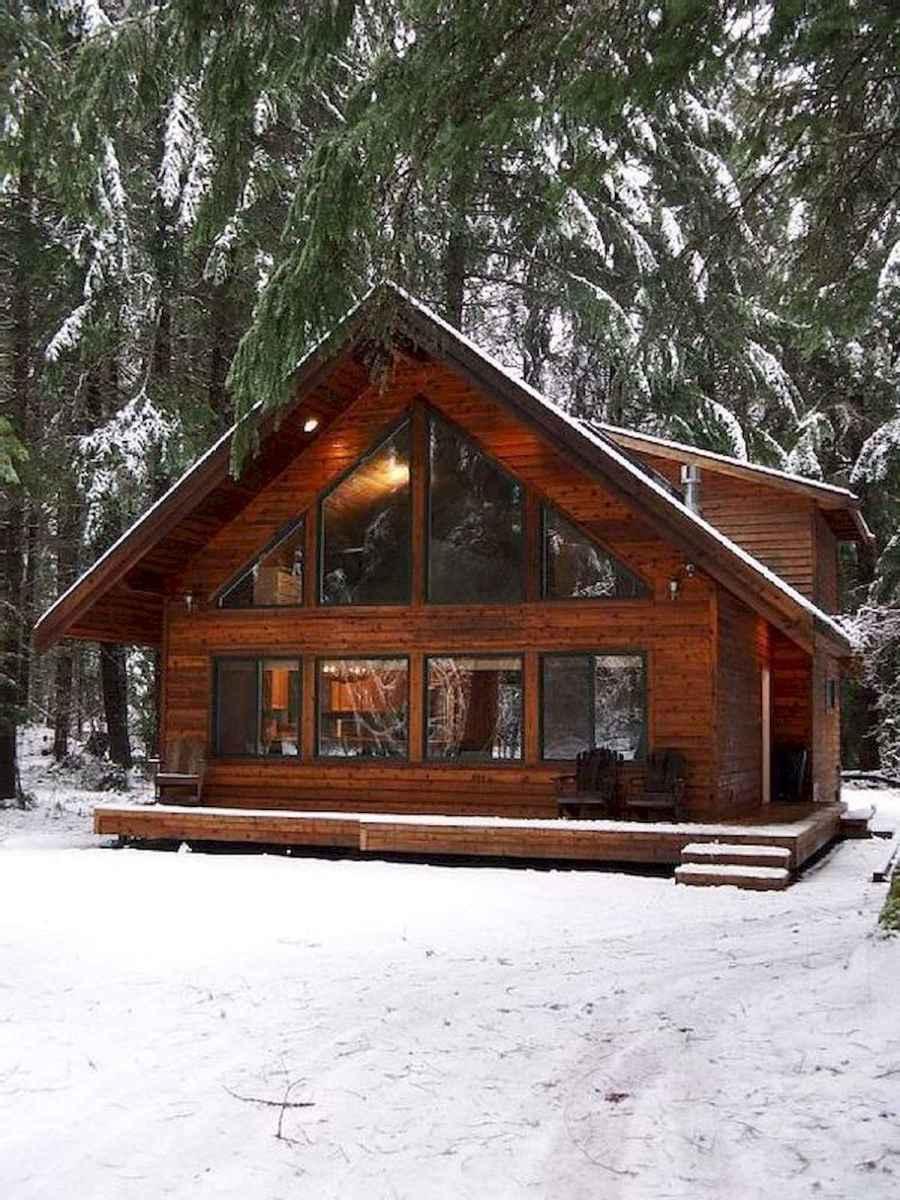 75 Great Log Cabin Homes Plans Design Ideas (54)