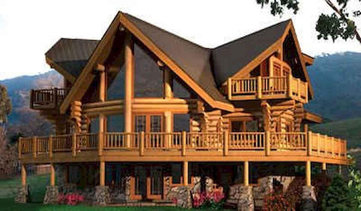 75 Great Log Cabin Homes Plans Design Ideas (55)