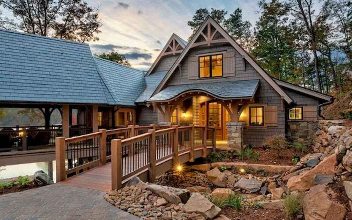 75 Great Log Cabin Homes Plans Design Ideas (6)