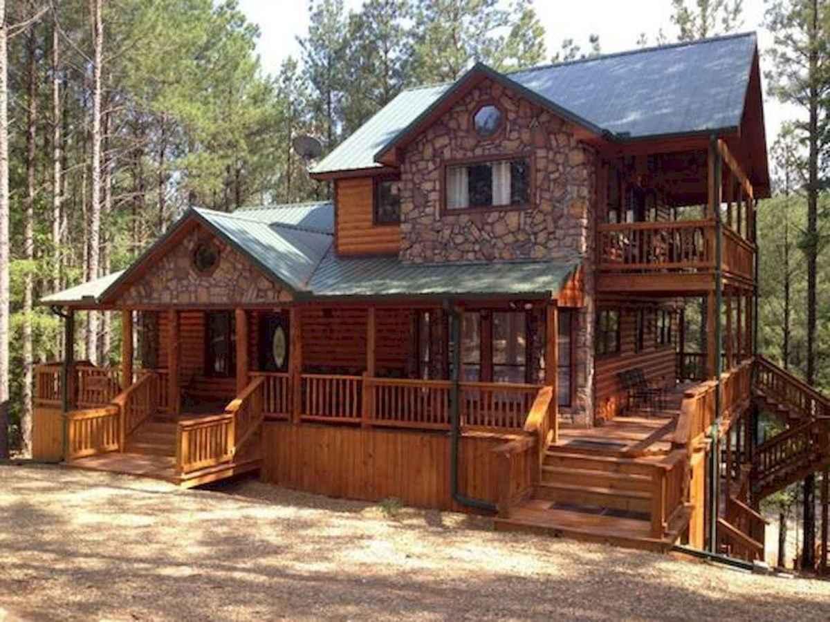 75 Great Log Cabin Homes Plans Design Ideas (65)