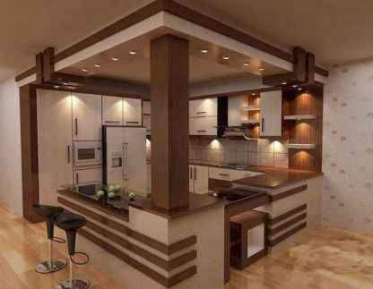 40 Awesome Craftsman Style Kitchen Design Ideas (38)